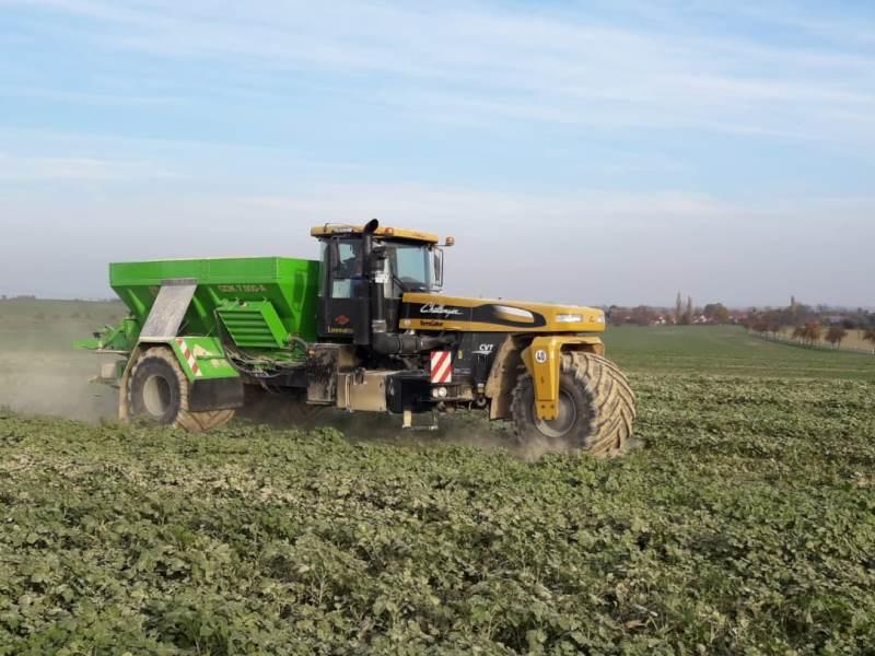 Carbokalk für die Landwirtschaft